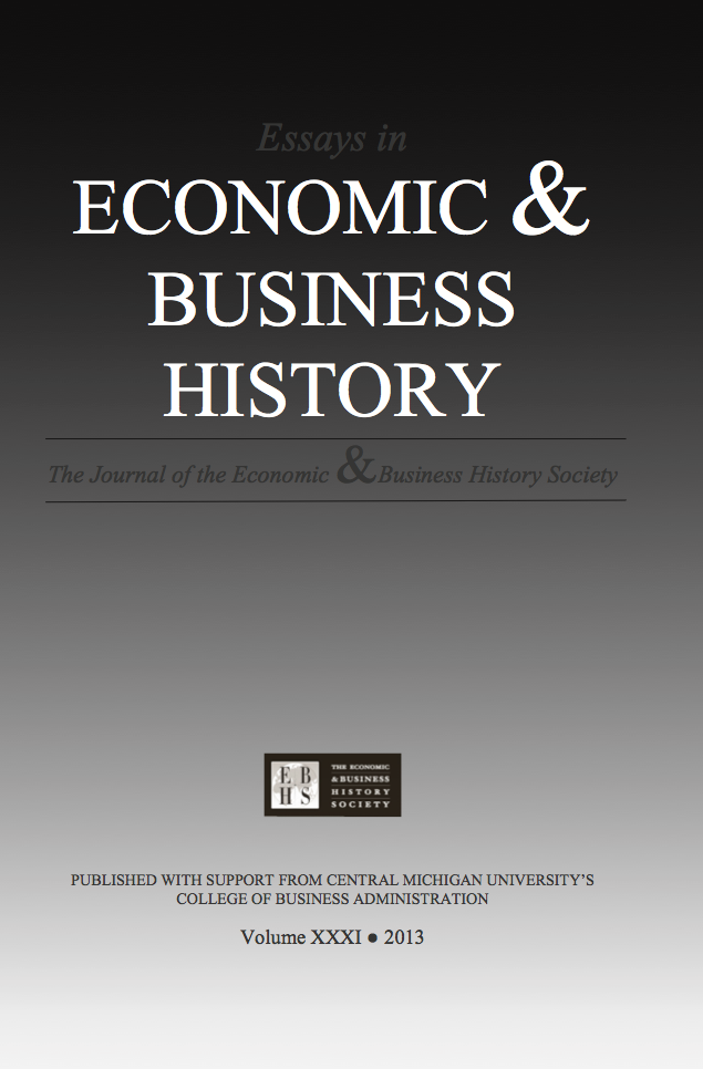 archives vol 31 2013 essays in economic business history