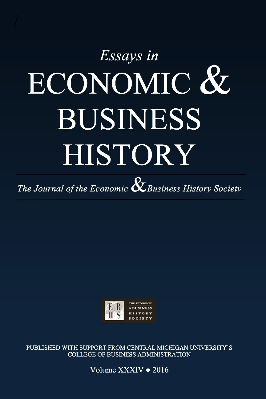 archives vol 32 2014 essays in economic business history
