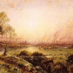 Manchester from Kersal Moor (1857). By William Wylde [Public domain], via Wikimedia Commons